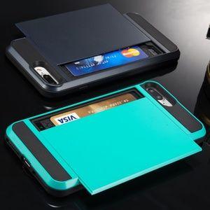Card Slot Slide Case for iPhone